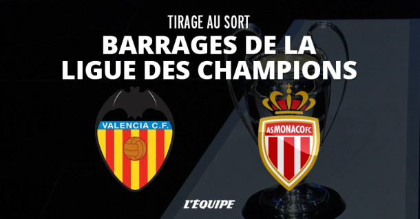 Monaco face au FC Valence