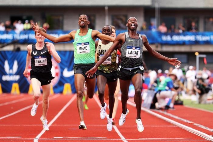 Atletica - Trials USA: Claye vola nel triplo, Gatlin batte Merritt sui 200, Lagat si prende i 5000