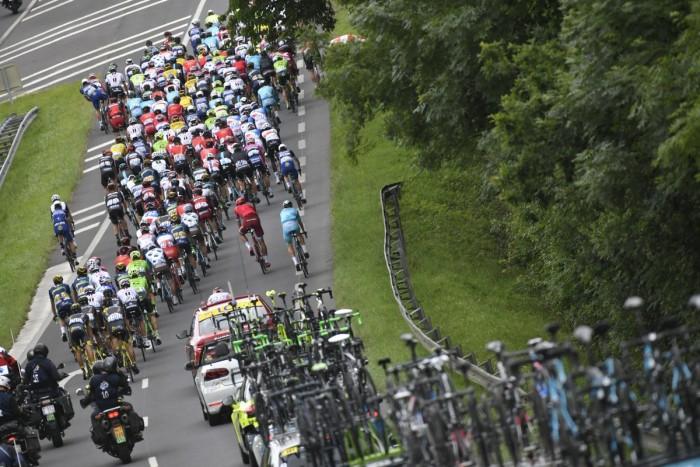Tour de France, 6^ tappa: Arpajon-Sur-Cere - Montabun, 190,5 km