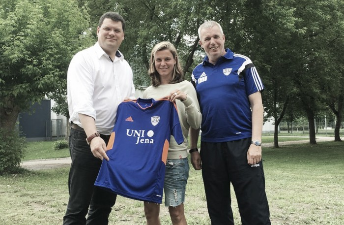 Patricia Hanebeck joins with USV Jena and Iva Landeka leaves the club
