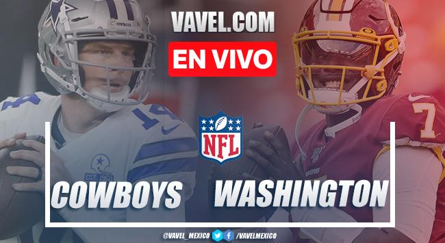 Touchdowns y Resumen del Cowboys 3-25 Washington en la semana 7 de la NFL 2020