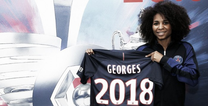 Laura Georges extends PSG stay until 2018