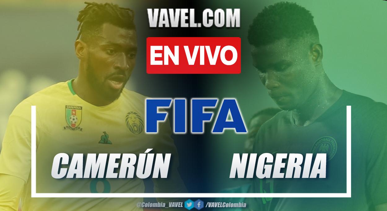 Goles y resumen de Camerún vs Nigeria (0-0) en amistoso internacional