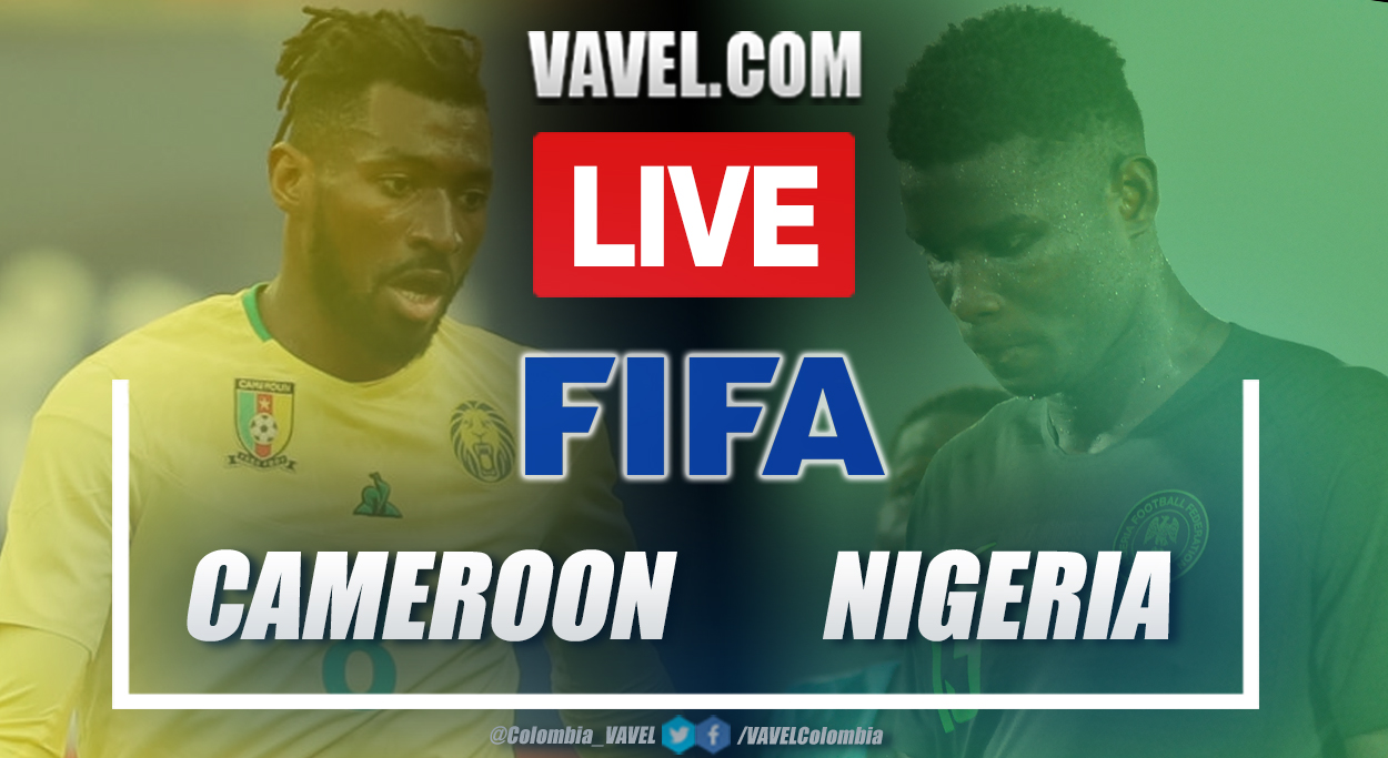 Goals and summary: Cameroon vs Nigeria (0-0) in international friendly match