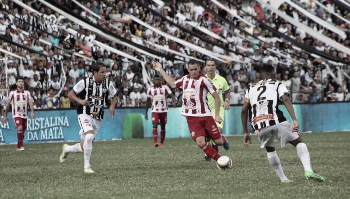 Central e Náutico empatam sem gols no Lacerdão e decisão fica para jogo em Recife