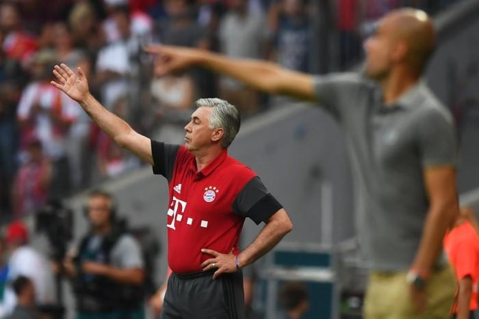 Il Bayern di Ancelotti batte il City di Guardiola nell'amichevole dell'Allianz: è 1-0, decide Ozturk