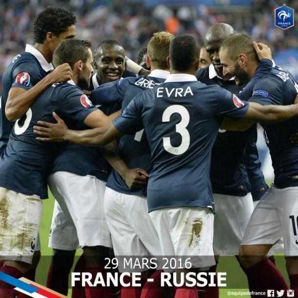 La Russie au programme pour la France