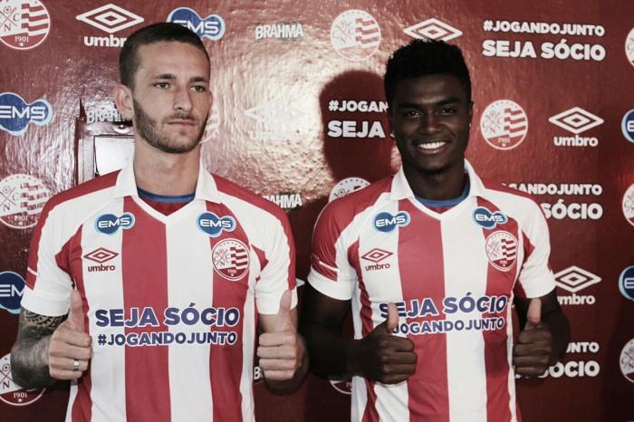 Zagueiros Léo Pereira e Eduardo Bauermann são apresentados no Náutico para disputa da Série B
