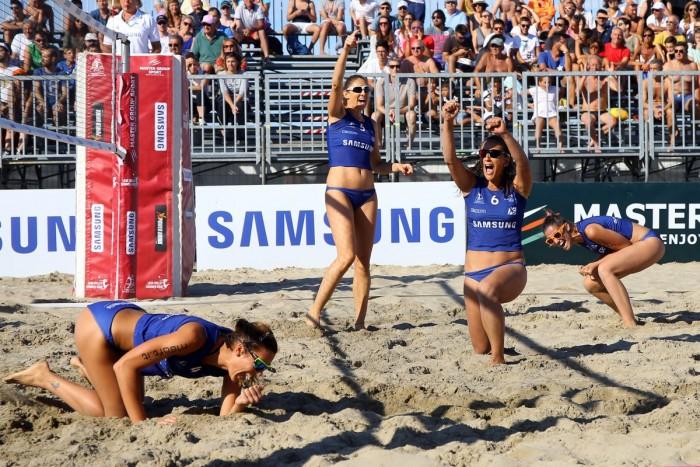 Che spettacolo la seconda tappa del Lega Volley Summer Tour femminile a Riccione
