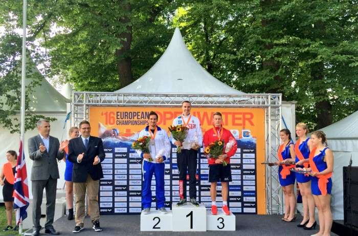 Nuoto di fondo - Europei Hoorn: Vanelli argento nella 5 km, Ponselè quarta al femminile