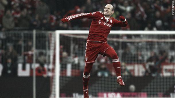 Arjen Robben torna-se o melhor marcador da Bundesliga