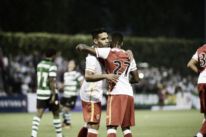 Monaco goleia Sporting com dois de Falcao em amistoso de pré-temporada
