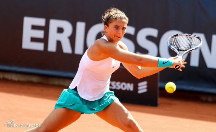 Tennis / Debutto vincente per Sara Errani al torneo Wta di Bastad