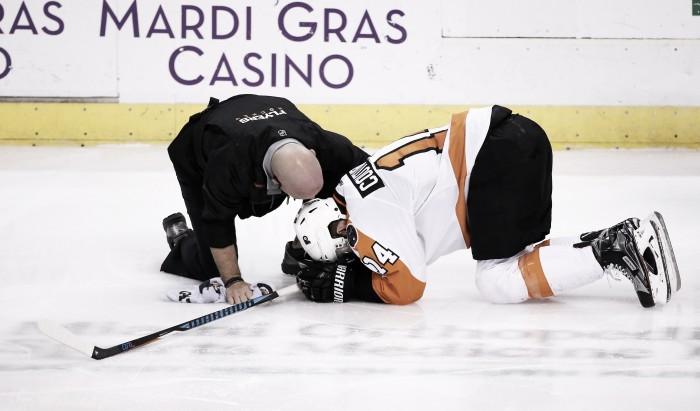 Philadelphia pierde a Couturier por lesión