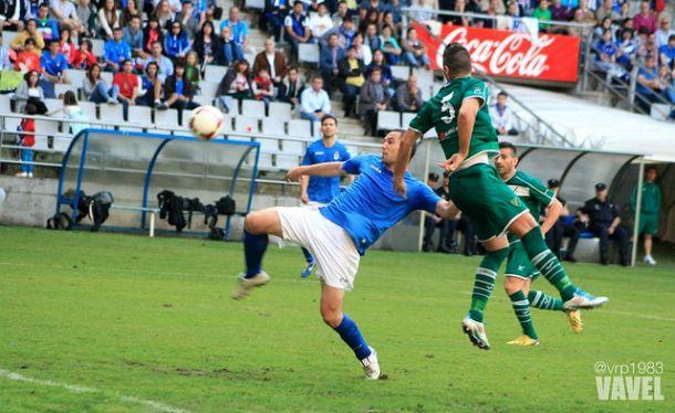 Coruxo FC - Real Oviedo: partido de trámite