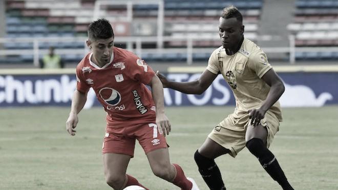 Datos del empate de América 1-1 ante Rionegro