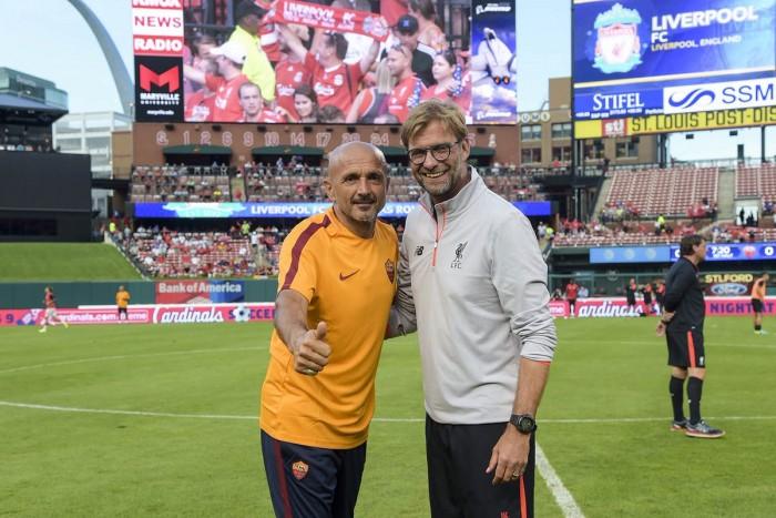 Dzeko-Salah, la Roma mette al tappeto il Liverpool