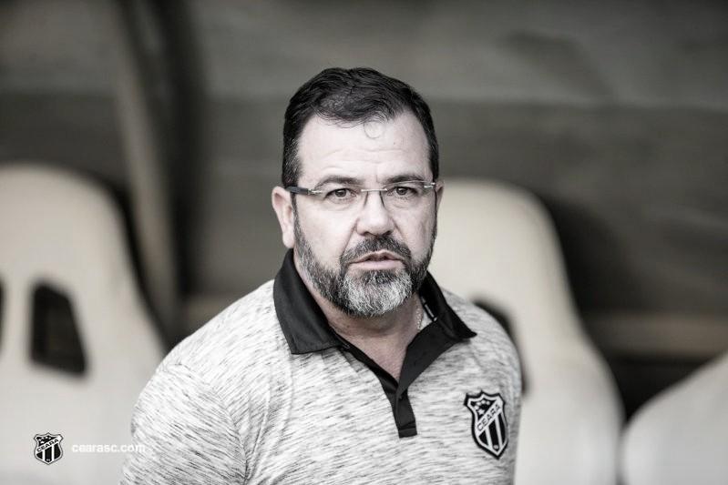 """Enderson se mostra tranquilo apesar de má fase do Ceará: """"Não me sinto pressionado"""""""