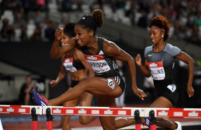 Atletica - Diamond League, Londra: record mondiale della Harrison nei 100 hs, ok Bolt sui 200
