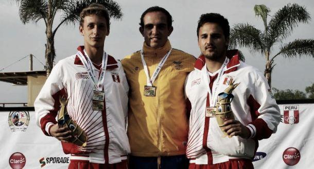Santiago Correa, le suma medalla de oro a Colombia en Bolivarianos de Playa