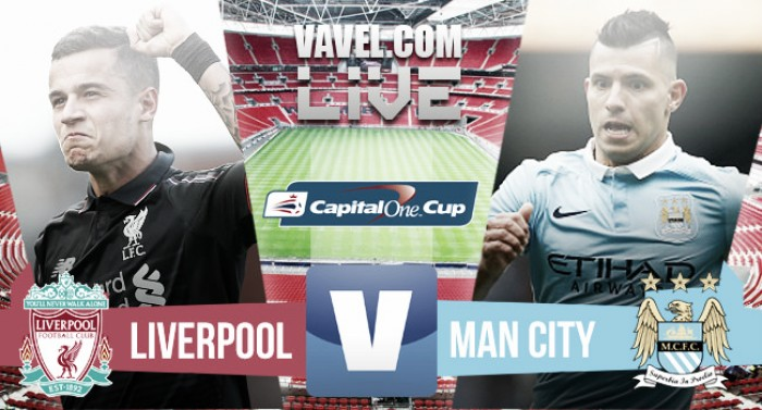 Manchester City beat Liverpool on penalties to win the Capital One Cup
