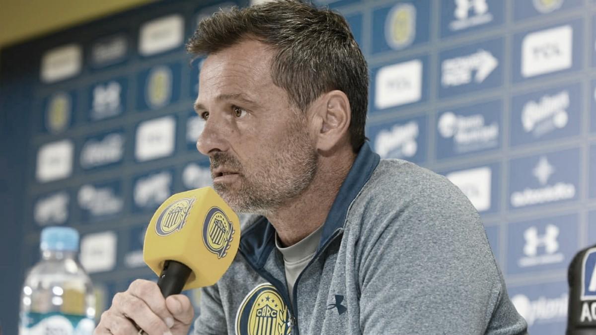 """Diego Cocca: """"La verdad que no lo sé si lo voy a perder a Caruzzo"""""""