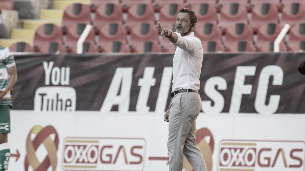 Diego Cocca confía en su equipo tras empate contra Santos