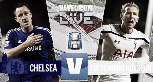 Chelsea vs Tottenham en vivo y directo online en la final de la Capital One Cup 2015 (0-0)
