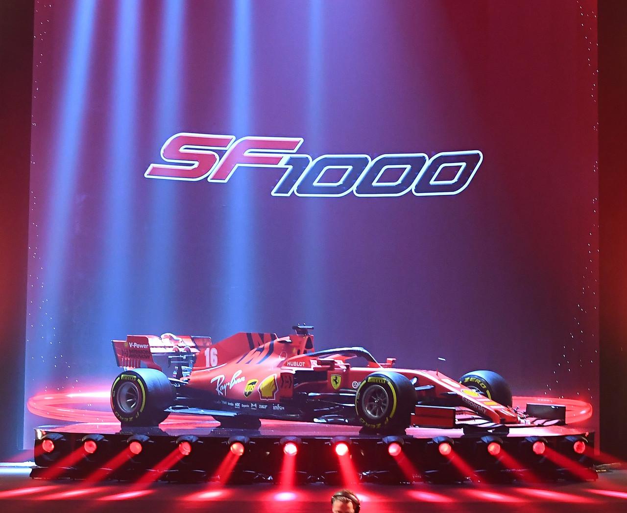 Ferrari presenta el coche para la temporada 2020