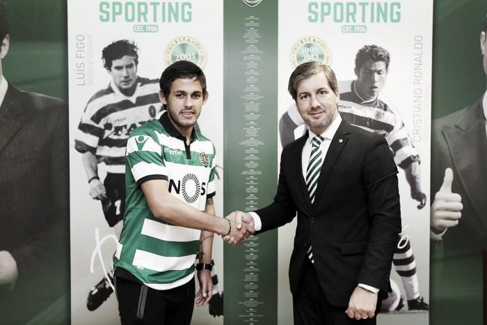 Marcelo Meli fue presentado en el Sporting de Lisboa