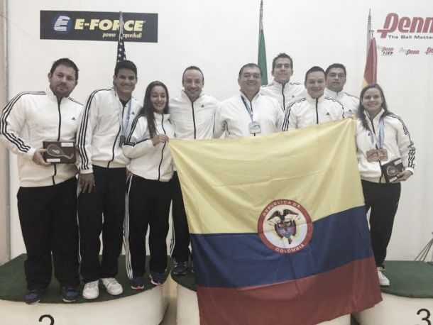 Colombia obtuvo cinco cupos en racquetball para Toronto 2015