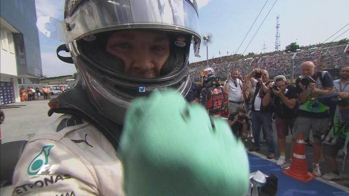 Formula 1, Rosberg conquista la pole position nel GP di Ungheria