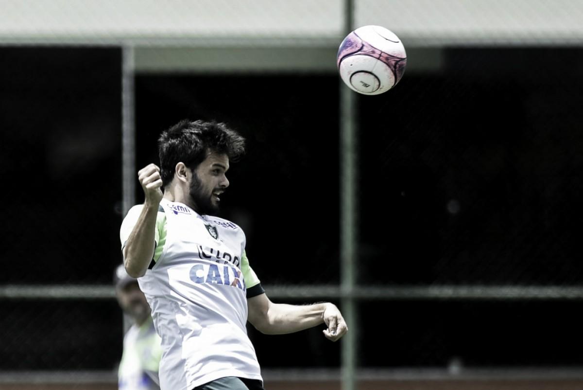 Sem Renan Oliveira, América-MG segue se preparando para encarar o Tombense