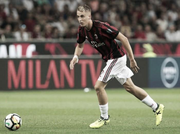 Recém-contratado, lateral Andrea Conti sofre lesão séria e desfalcará Milan por cerca de seis meses