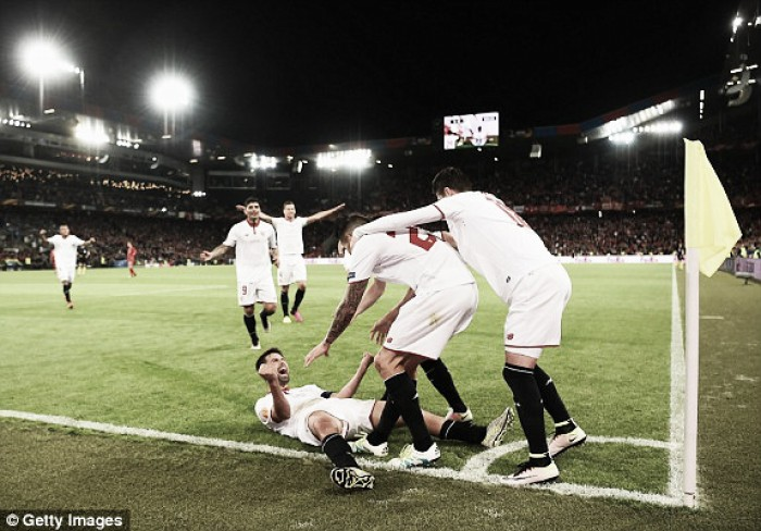 Liverpool 1-3 Sevilla: Reds falter at the final hurdle as Spaniards seal third straight Europa League crown