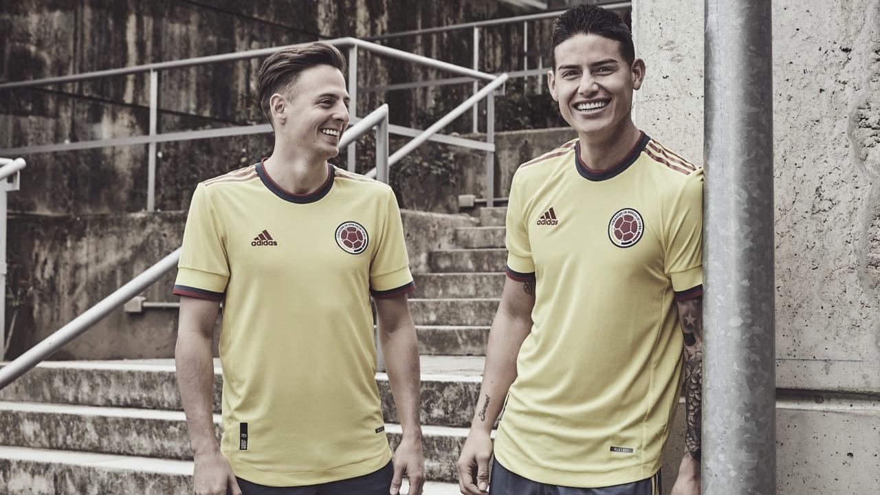 La Selección Colombia tiene nueva indumentaria