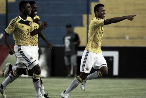 Colombia obtuvo su primer triunfo en el Sudamericano sub-17