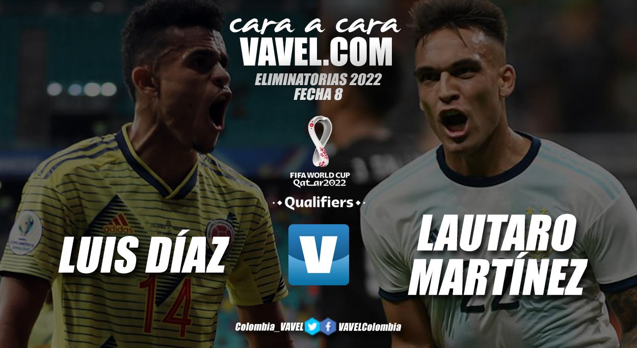 Cara a cara: Luis Díaz vs Lautaro Martínez