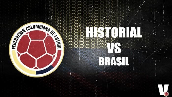 Historial desfavorable para la Selección Colombia ante Brasil por eliminatorias