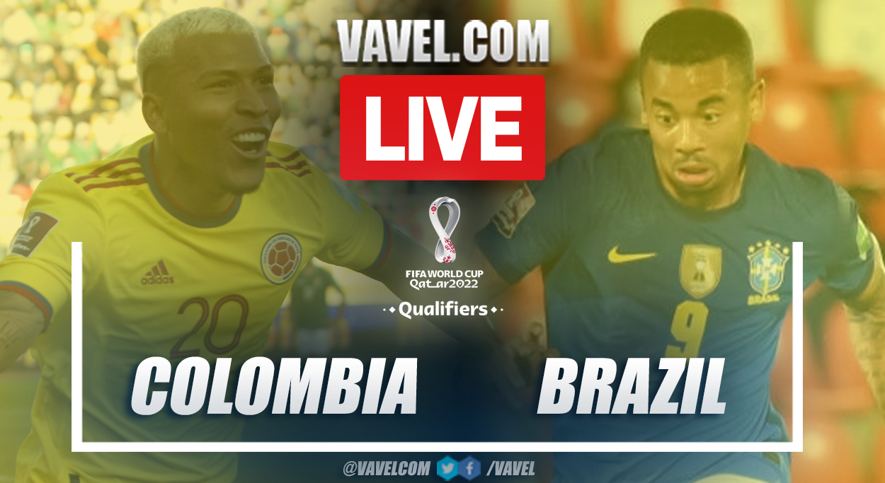 Highlights: Colombia 0-0 Brazil in 2022 Qatar World Cup Qualifiers