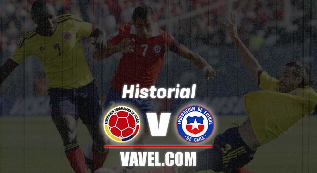 Historial Colombia vs. Chile: la 'tricolor' se reencuentra con una bestia negra