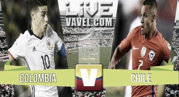 Resultado Colombia vs Chile en Copa América Centenario (0-2)