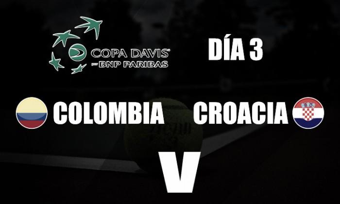 Cilic y Galovic acabaron con el sueño colombiano en la Copa Davis