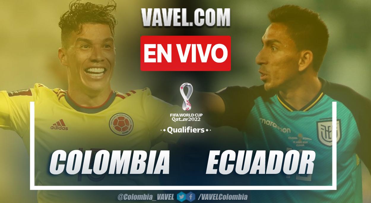 Resumen y goles: Colombia 0-0 Ecuador en la fecha doce por Eliminatorias al Mundial 2022