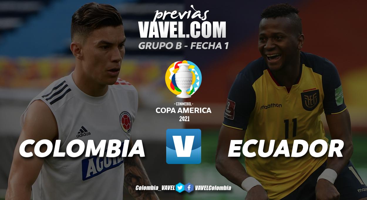 Previa Colombia vs Ecuador: un juego de revancha