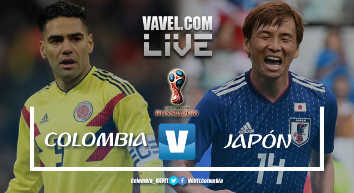 Resumen Colombia vs Japón (1-2): los asiáticos se quedan con los primeros tres puntos