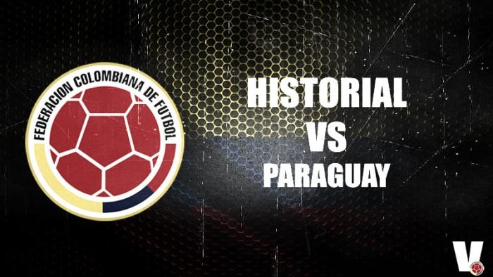 Leve ventaja paraguaya en el historial ante Colombia