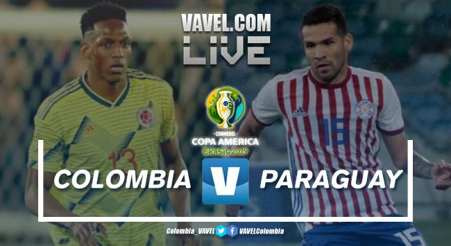 Resumen Colombia vs Paraguay por la segunda fecha del grupo B de la Copa América 2019 (1-0)