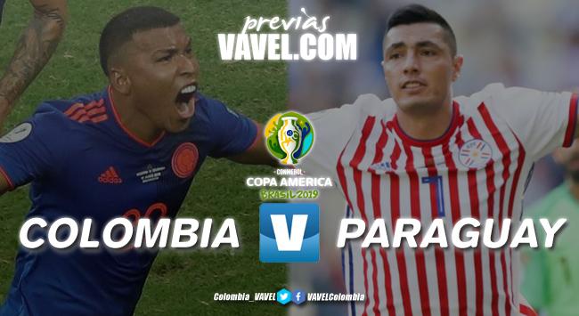 Previa Colombia vs Paraguay: dos selecciones que llegan con diferentes presentes
