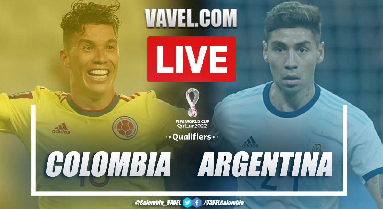 Goals and Highlights: Colombia 2-2 Argentina in Qatar Qualifying 2022